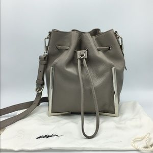 3.1 Phillip Lim Scout Small Leather Drawstring Bag